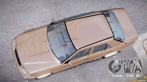 Mercedes-Benz W124 E500 1995 para GTA 4 vista superior