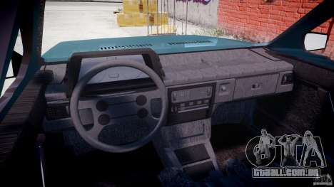 Volkswagen Gol GL para GTA 4 vista direita