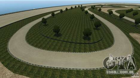 Dakota Raceway [HD] Retexture para GTA 4 décima primeira imagem de tela