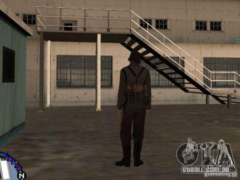 Unteroficer da Wehrmacht para GTA San Andreas terceira tela