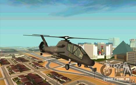Sikorsky RAH-66 Comanche default grey para GTA San Andreas