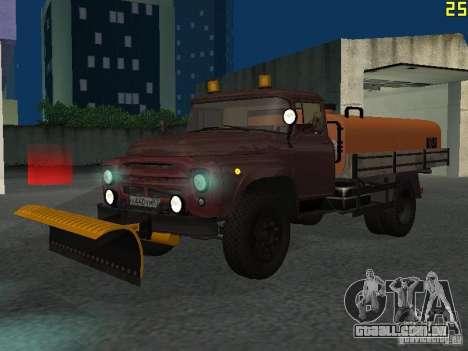 Ko-829 na beta de chassi de caminhão ZIL-130 para GTA San Andreas