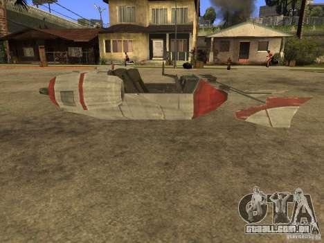 Bagagem de Star Wars para GTA San Andreas esquerda vista