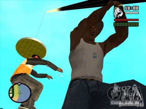 Pesca para GTA San Andreas por diante tela