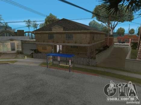 Novo Groove Street para GTA San Andreas sétima tela