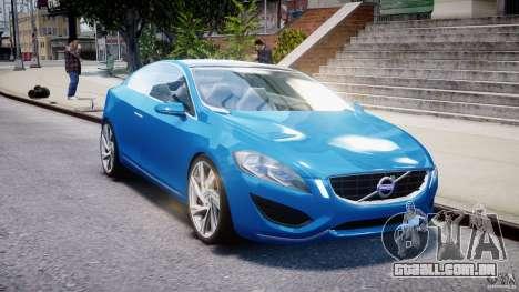 Volvo S60 Concept para GTA 4 vista de volta