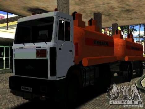 MAZ 533702 caminhão para GTA San Andreas