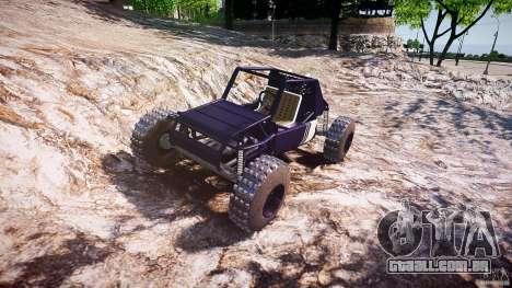 Buggy beta para GTA 4 vista de volta