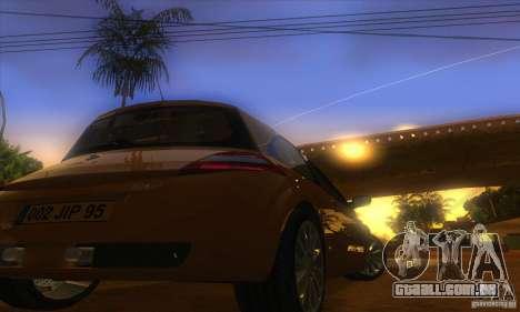 Renault Megane RS II V1.0 para GTA San Andreas vista traseira