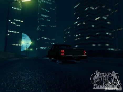 ENBSeries v1 para GTA San Andreas por diante tela