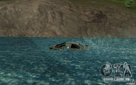 Honda Civic Mugen RR Boat para GTA San Andreas esquerda vista
