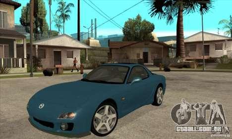 Mazda RX-7 - Stock para GTA San Andreas