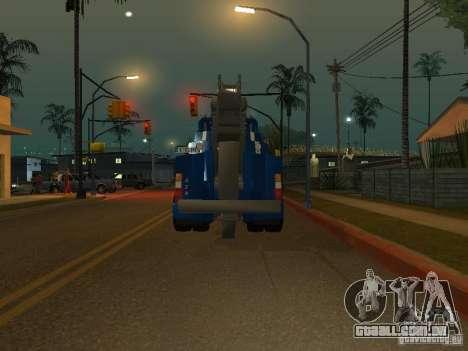 HOMEM F2000 (com roteiro de CLEO) para GTA San Andreas vista traseira