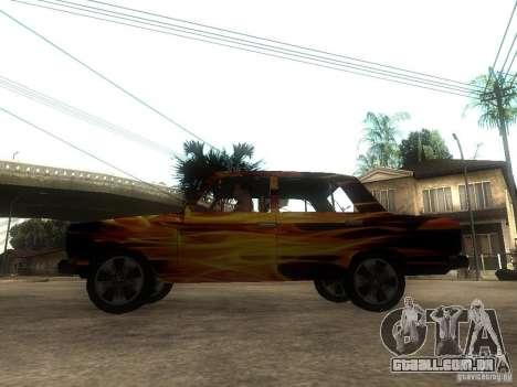 2106 VAZ do jogo STALKER para GTA San Andreas esquerda vista