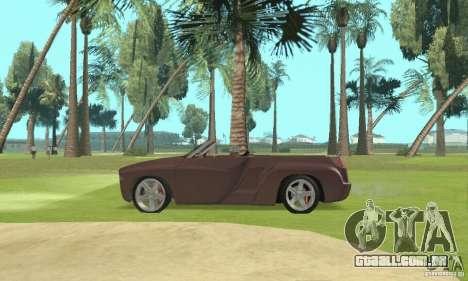 Dodge Sidewinder Concept 1997 para GTA San Andreas vista direita