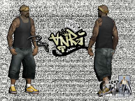 Gagns skinpack by AnRi para GTA San Andreas terceira tela