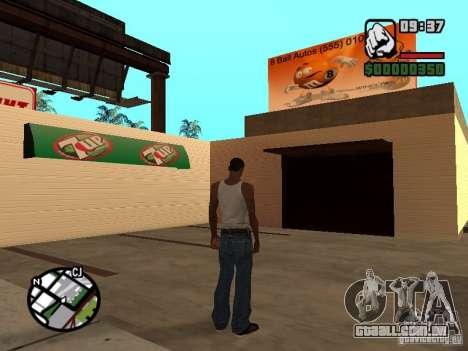 Lojas de ímã para GTA San Andreas quinto tela