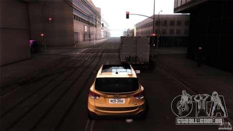 Hyundai iX35 Edit RC3D para GTA San Andreas vista direita