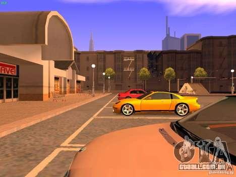 New Euros para GTA San Andreas vista interior