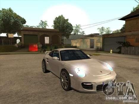 Porsche 911 GT2 para GTA San Andreas vista traseira