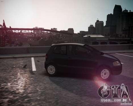 Volkswagen Fox 2011 para GTA 4 esquerda vista