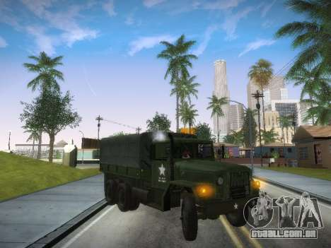 AM General M35A2 para GTA San Andreas esquerda vista
