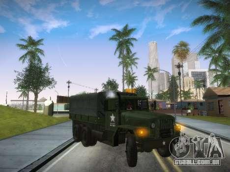 AM General M35A2 para GTA San Andreas esquerda vista