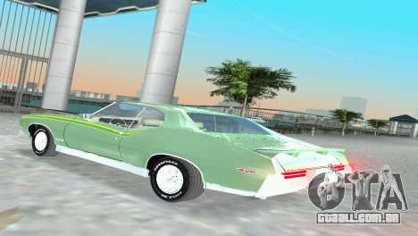 Pontiac GTO The Judge 1969 para GTA Vice City vista direita