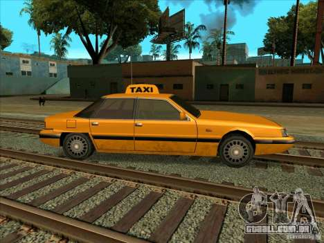 Intruder Taxi para GTA San Andreas vista direita