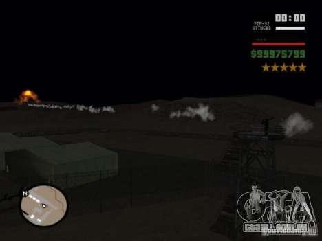javelin and stinger mod para GTA San Andreas segunda tela