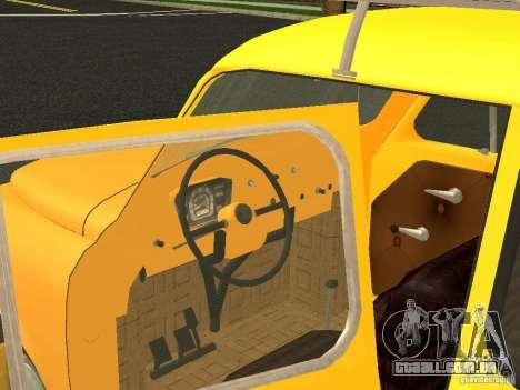 ZAZ 965M para GTA San Andreas traseira esquerda vista