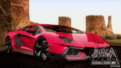 Lamborghini Aventador LP-700 J para GTA San Andreas