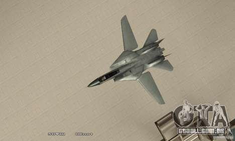 F14W Super Weirdest Tomcat Skin 2 para GTA San Andreas vista direita