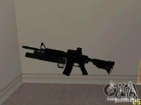 M4 MOD v3 para GTA San Andreas