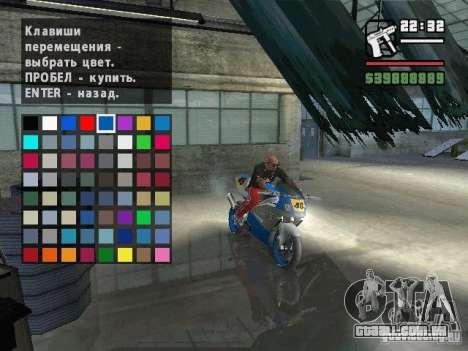 Carcols.dat By Russiamax para GTA San Andreas por diante tela