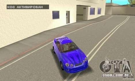 Toyota Celica GT4 2000 para o motor de GTA San Andreas
