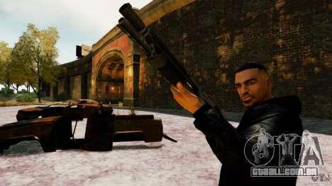Marshall de Crysis 2 para GTA 4 por diante tela
