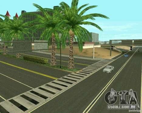 GTA 4 Road Las Venturas para GTA San Andreas décimo tela
