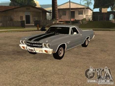 Chevrolet El Camino SS 454 1970 para GTA San Andreas
