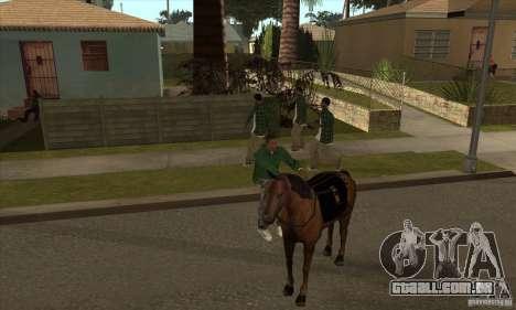 Cavalo para GTA San Andreas sexta tela