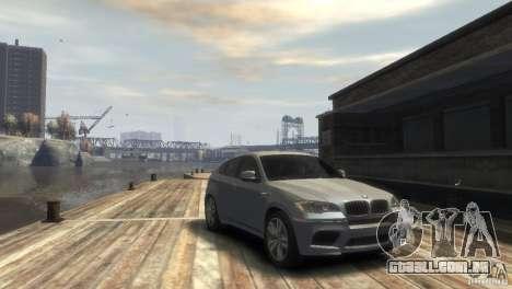 BMW X6M para GTA 4 esquerda vista
