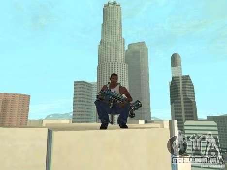 Weapons Pack para GTA San Andreas sexta tela