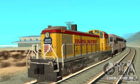 RS3 Locomotiva Diesel Union Pacific para GTA San Andreas