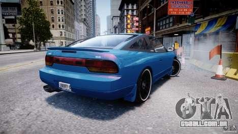 Nissan 240sx v1.0 para GTA 4 traseira esquerda vista