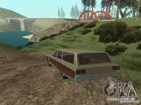 Chrysler Town and Country 1967 para GTA San Andreas vista direita
