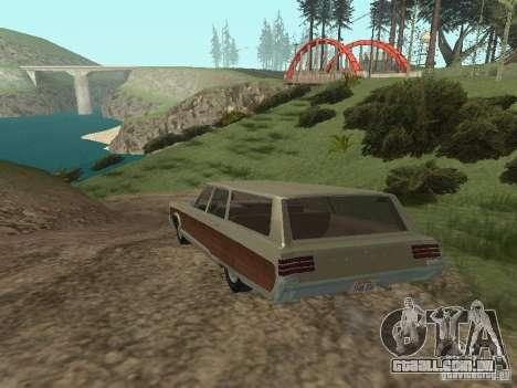 Chrysler Town and Country 1967 para GTA San Andreas vista direita