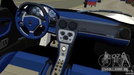 Maserati MC12 para GTA 4 vista de volta