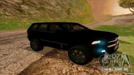 Dodge Durango 2012 para GTA San Andreas esquerda vista