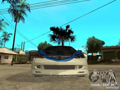 Acura RSX Shark Speed para GTA San Andreas vista direita