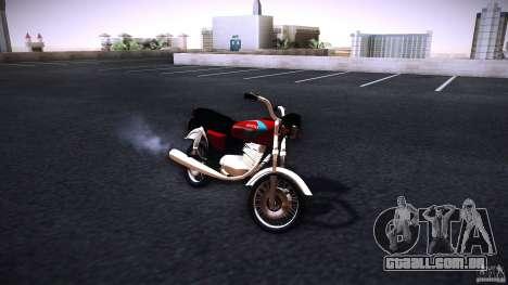 Honda CG 125 para GTA San Andreas
